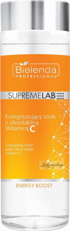 Bielenda Professional - SUPREMELAB - Energy Boost - Energizing Toner With Ultra-stable Vitamin C - Energetyzujący tonik z ultrastabilną witaminą C - 200 ml
