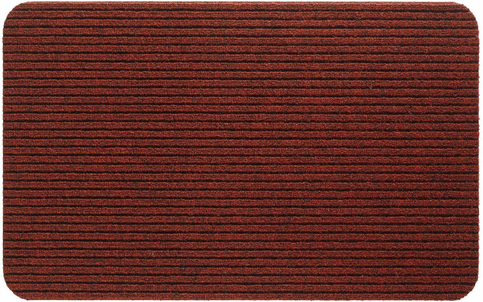 Fortuna mata wejściowa 100% polipropylen 50 x 80 cm klasyczna czerwona
