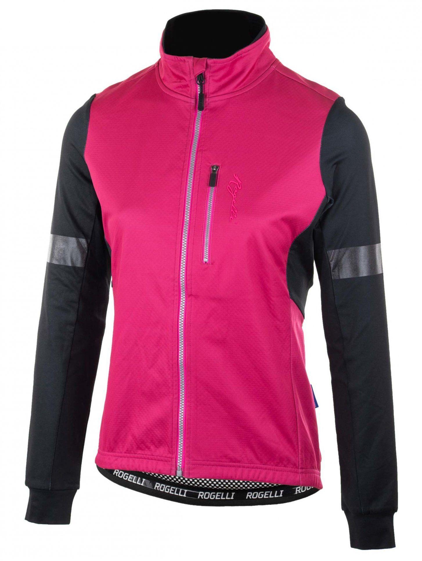 ROGELLI TRANSITION 010.315 damska kurtka rowerowa nieocieplana różowa Rozmiar: S,010-315