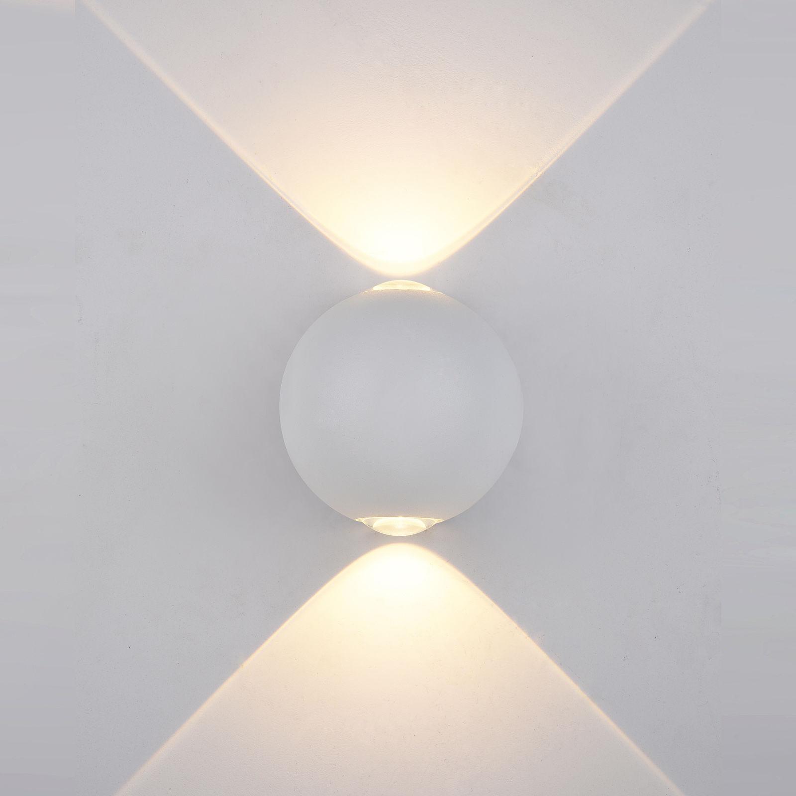 Italux kinkiet lampa ścienna Carsoli PL-308W IP54 biały LED 2W 3000K 10cm