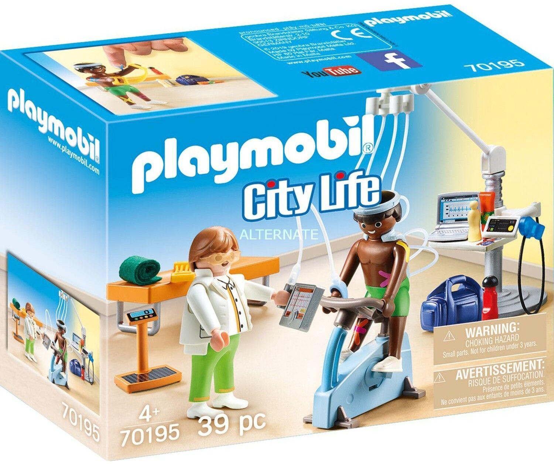 Playmobil - Fizjoterapeuta 70195