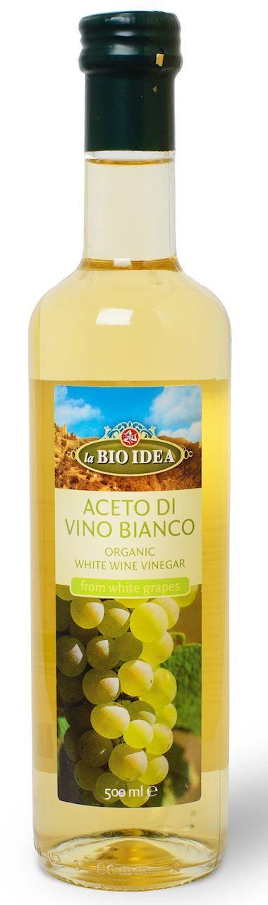 Ocet Winny Biały BIO 500ml - La Bio Idea