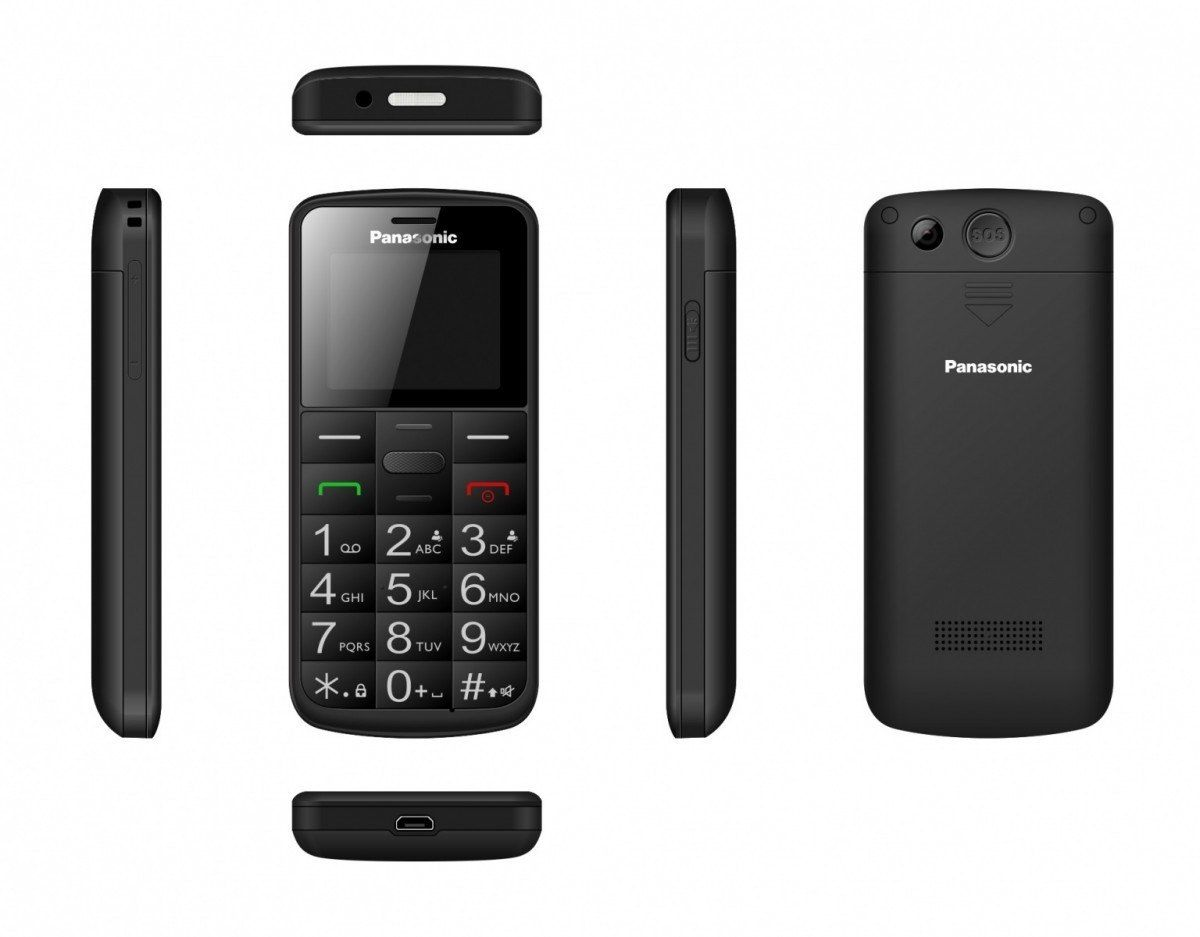 Panasonic Telefon komórkowy dla seniora KX-TU110 czarny