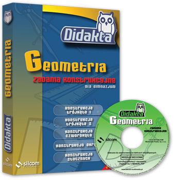 DIDAKTA Geometria 1 (Zadania konstrukcyjne) - multilicencja - CD-ROM