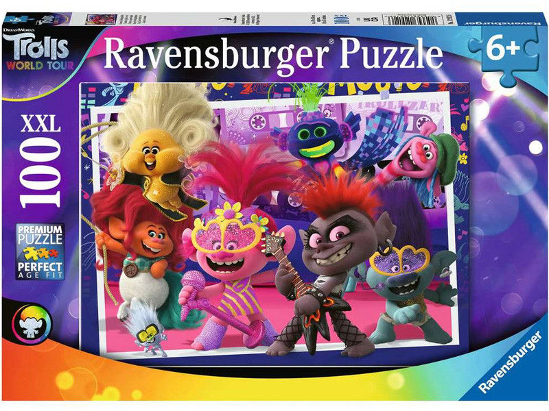 Ravensburger - Puzzle Trolls World Tour 100 elem. 129126