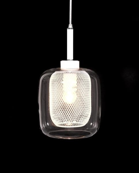 Lumina Deco Bessa nowoczesna biała lampa wisząca