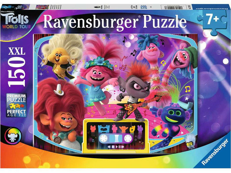 Ravensburger - Puzzle XXL Trolls World Tour 150 elem. 129133