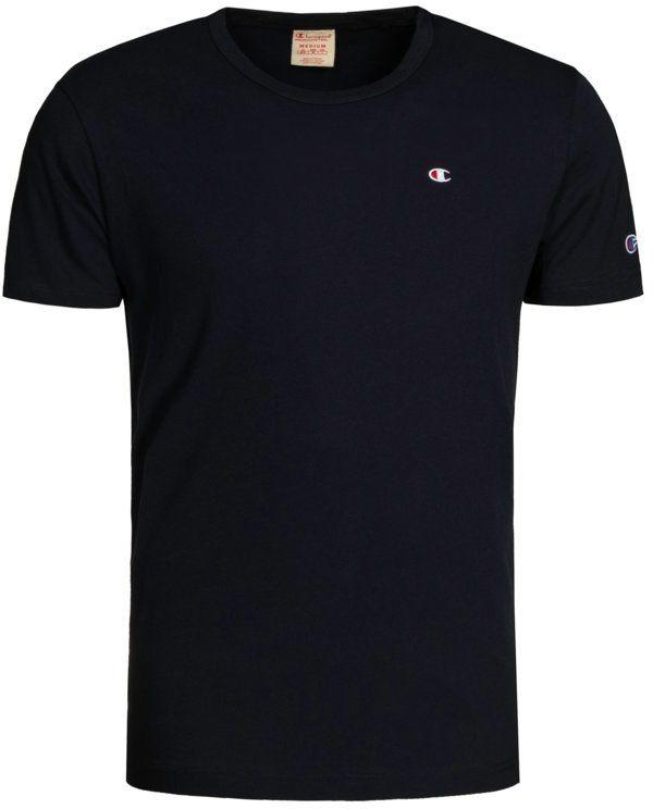 Champion T-Shirt 212974 Granatowy Regular Fit