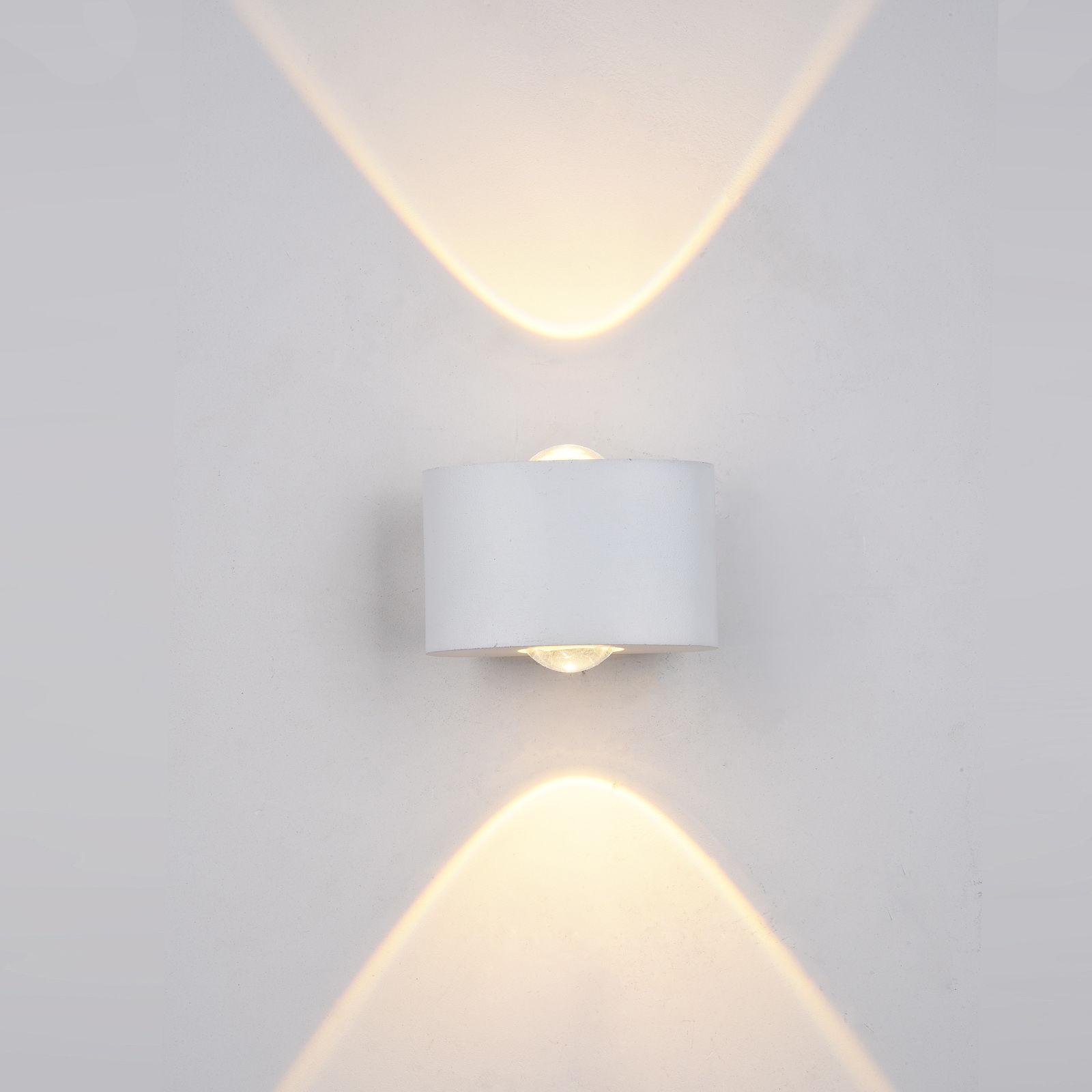 Italux kinkiet lampa ścienna Gilberto PL-260W IP54 biały LED 2W 3000K