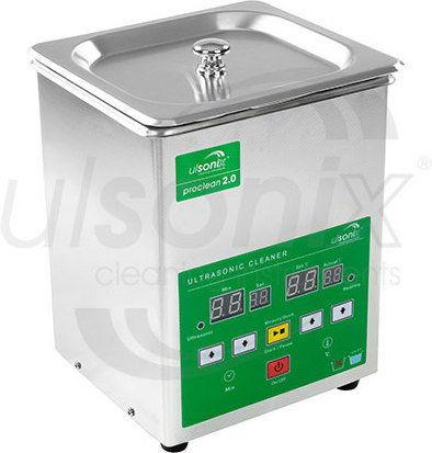 Myjka ultradźwiękowa - 2 litry - 60 W - 4 x LED - ulsonix - Proclean 2.0 - 3 lata gwarancji/wysyłka w 24h