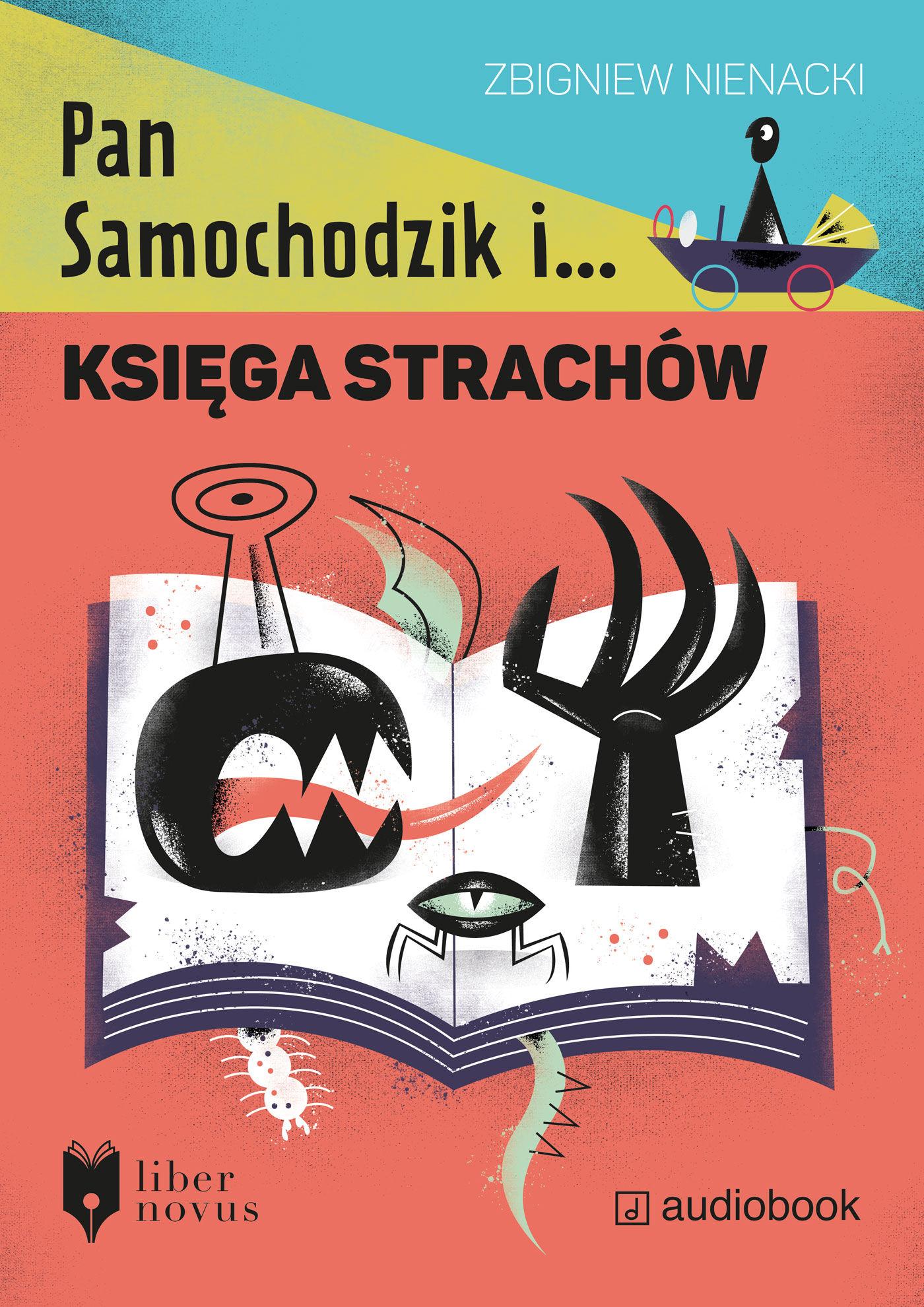 Pan Samochodzik i Księga strachów - Zbigniew Nienacki - audiobook