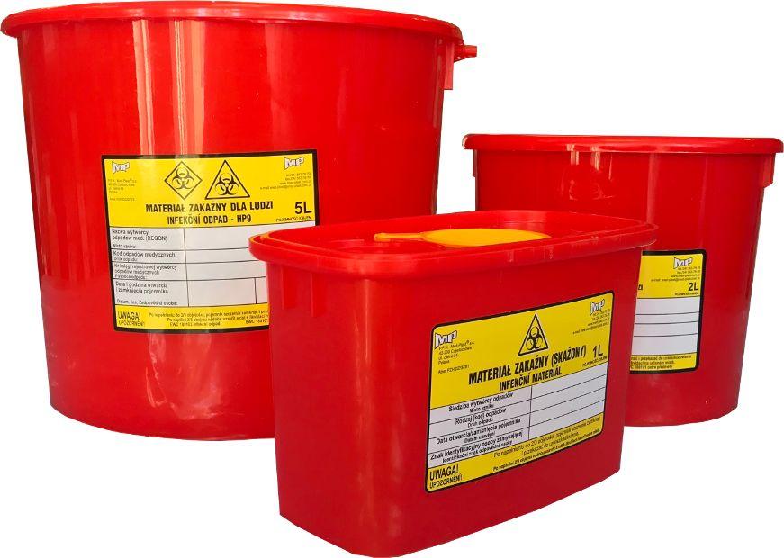 Pojemnik na odpady medyczne i materiał zakaźny (mp)