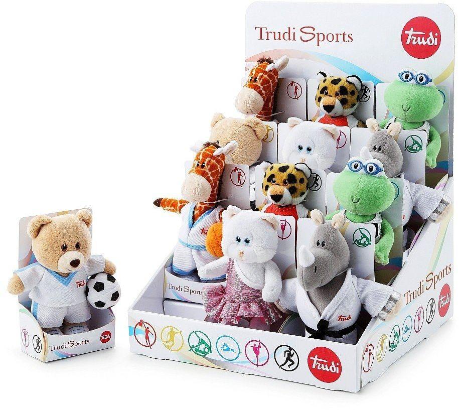 Sportowcy, pluszowe zwierzęta,28903-Trudi