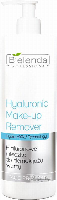 Bielenda Professional - Hyaluronic Make-Up Remover Milk - Hialuronowe mleczko do demakijażu twarzy - 500 ml