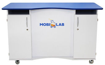 Mobilna szafka laboratoryjna mobiLab HPL