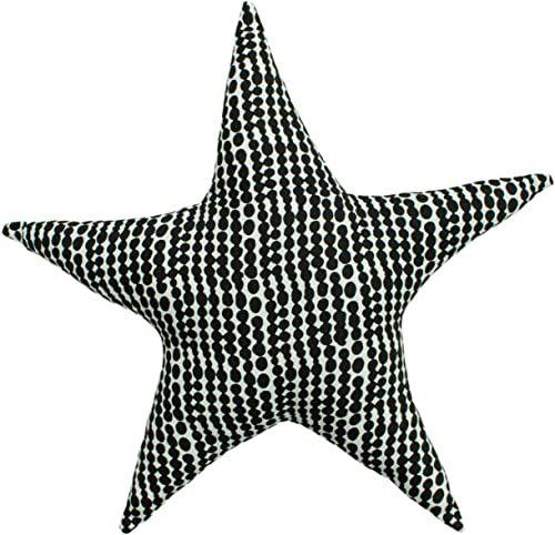 little furn. Poduszka z nadrukiem w gwiazdki, jednokolorowa/różowa, 40 x 40 x 10 cm