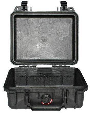 Peli 1200 bez gąbki - wodoodporna, pancerna skrzynia transportowa