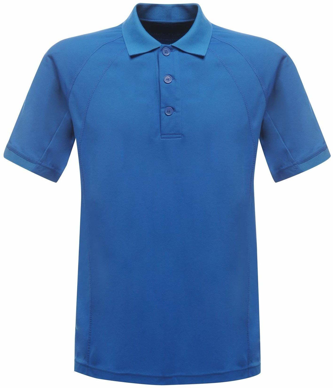 Regatta Męska koszulka polo z krótkim rękawem UTRG2161_14, niebieska (Oxford Blue), średnia