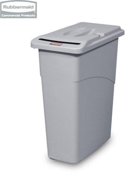 Pojemnik Slim Jim  Waste Confidential Combo grey