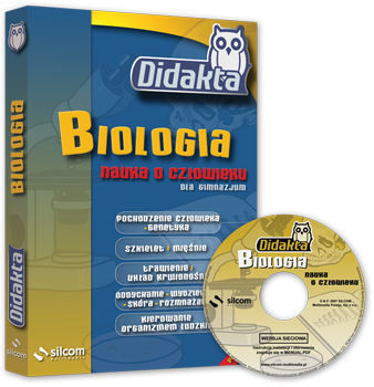 DIDAKTA Biologia 1 (Nauka o człowieku) - multilicencja - CD-ROM