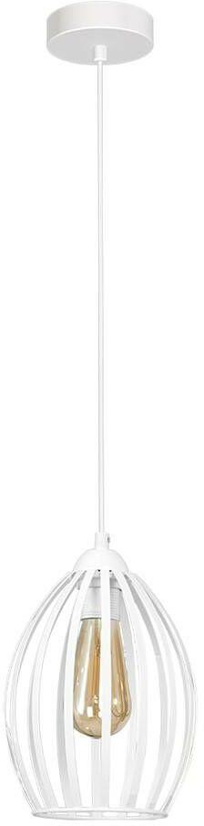 Lampa Wisząca RUSSEL WHITE 1xE27