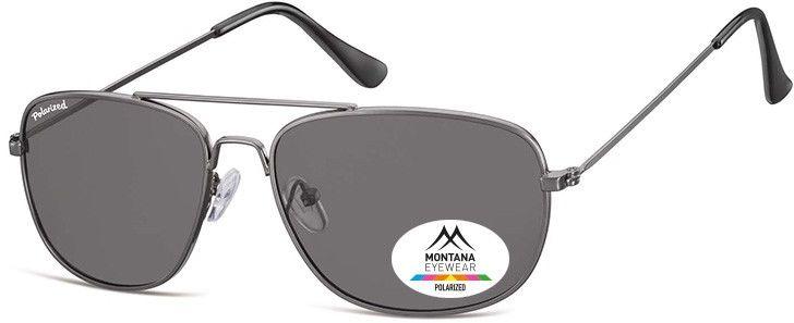 Meskie okulary pilotki Montana MP93 polaryzacyjne