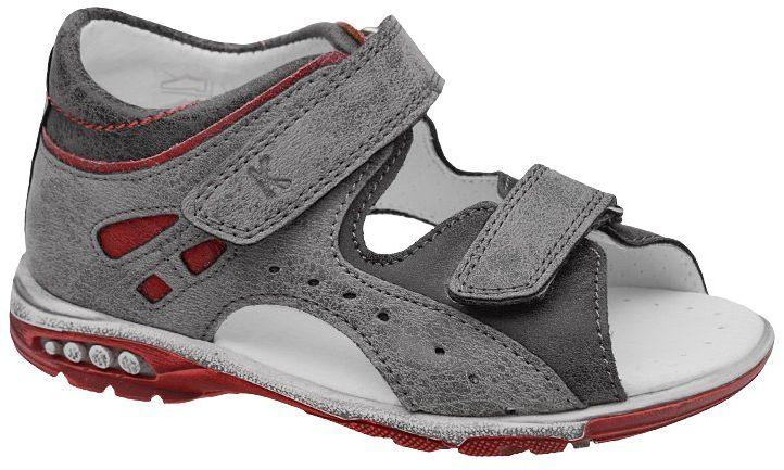 Sandałki dla chłopca KORNECKI 4963 Popielate Szare