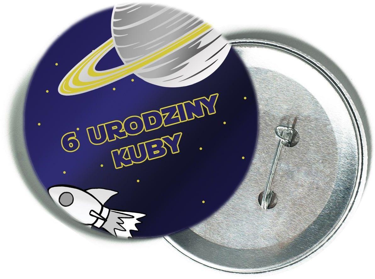 Przypinka personalizowana Kosmos - 1 szt.