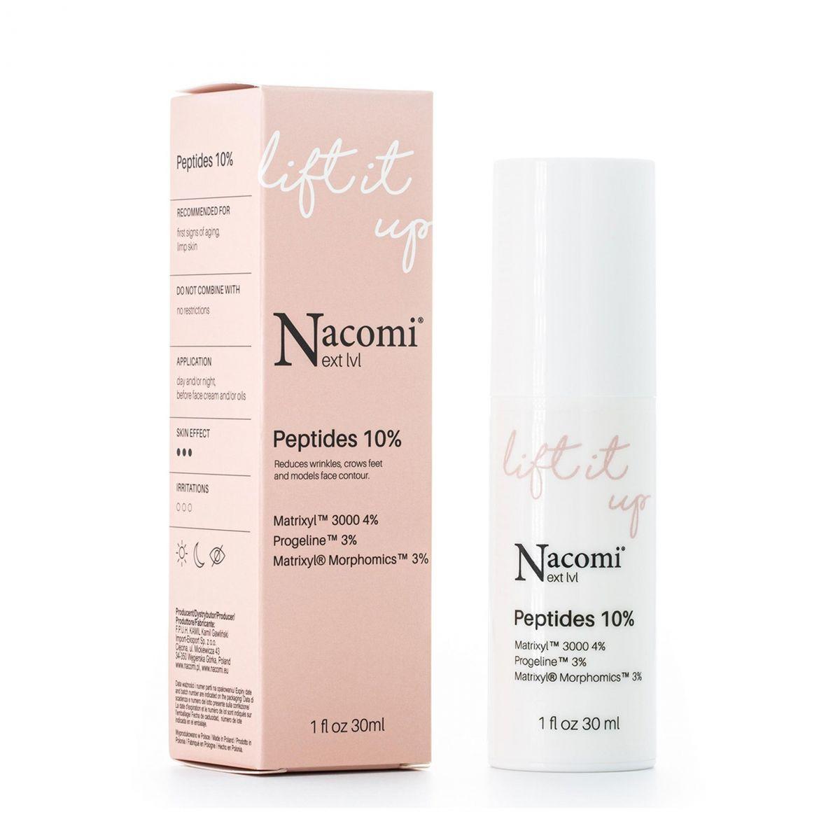 Serum peptydowe 10% - 30ml - Nacomi