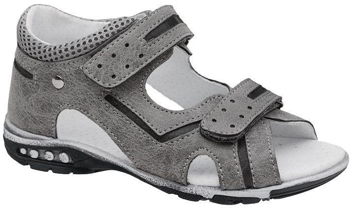 Sandałki dla chłopca KORNECKI 4964 Popielate Szare