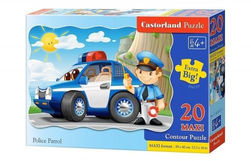 Puzzle 20 maxi - Police Patrol