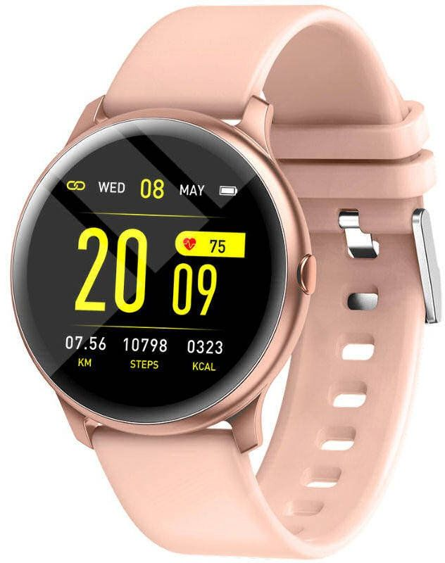 Zegarek SmartWatch z pulsoksymetrem Rubicon RNCE40 PRO Pink