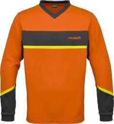 Reusch Reusch Razor koszulka męska z długim rękawem pomarańczowa Shocking Orng/Safety Yellw X-L