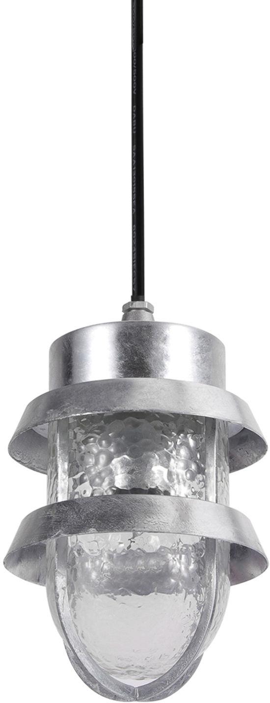 Italux lampa wisząca Tivoli 6634/G IP44 srebrna