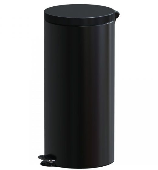 Kosz na śmieci 30L FREEDOM FRESH SOFT czarny z wolno opadającą pokrywą