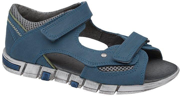 Sandałki dla chłopca KORNECKI 3988 Niebieskie Sandały