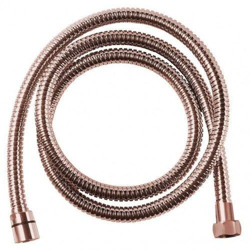 Wąż prysznicowy 150 cm , różowe złoto
