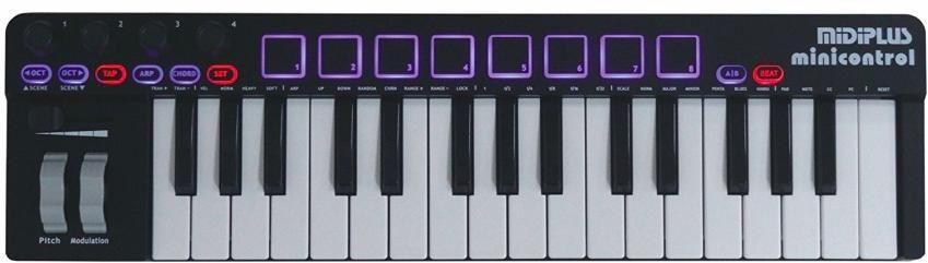 MIDIPLUS- minicontrol - klawiatura sterująca