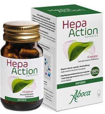 Hepa Action Advanced 30 kapsułek