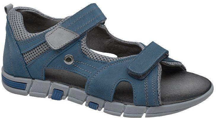 Sandałki dla chłopca KORNECKI 5200 Niebieskie Sandały