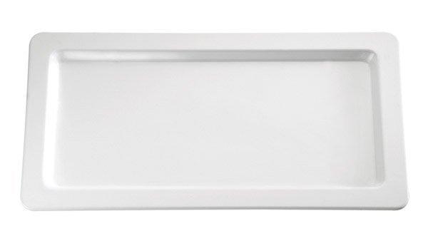 Półmisek prostokątny z melaminy biały różne wymiary
