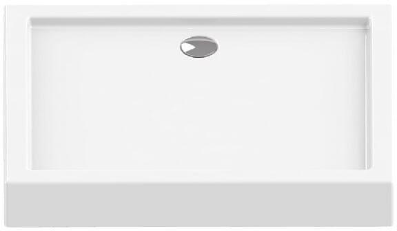 Brodzik prostokątny 90x80 Columbus New Trendy (B-0391)