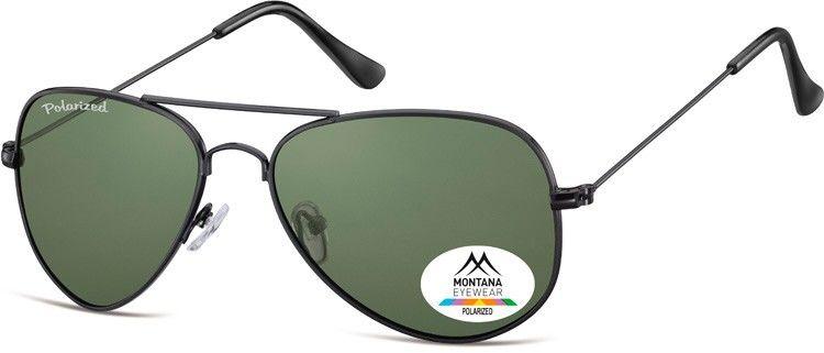 Pilotki okulary aviator Montana MP94A polaryzacyjne