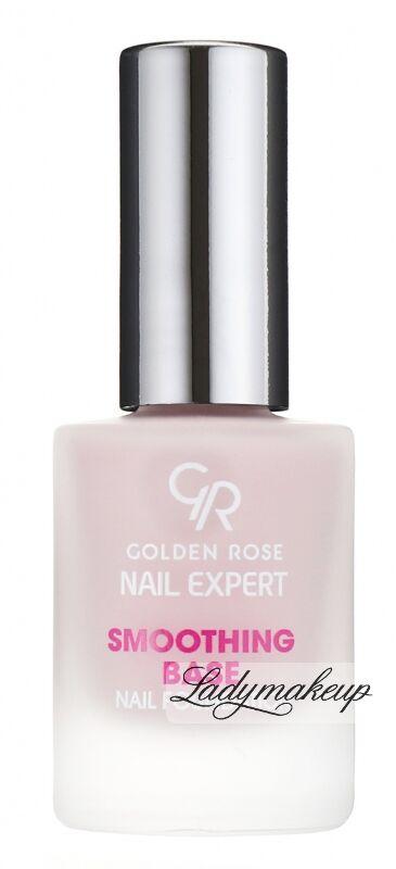 Golden Rose - Nail Expert - SMOOTHING BASE NAIL FOUNDATION - Odżywka wygładzająca płytkę paznokcia