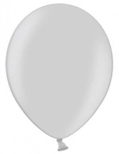 """Balon 5"""" srebrny, metaliczny"""