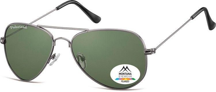 Pilotki okulary aviator Montana MP94C polaryzacyjne