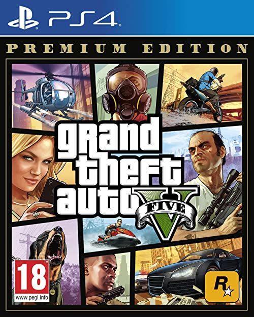Grand Theft Auto V Premium Edition - [PlayStation 4][AT-Pegi]  wersja niemiecka