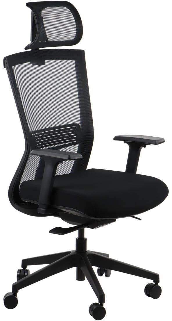 Fotel biurowy gabinetowy obrotowy HOPE/BK