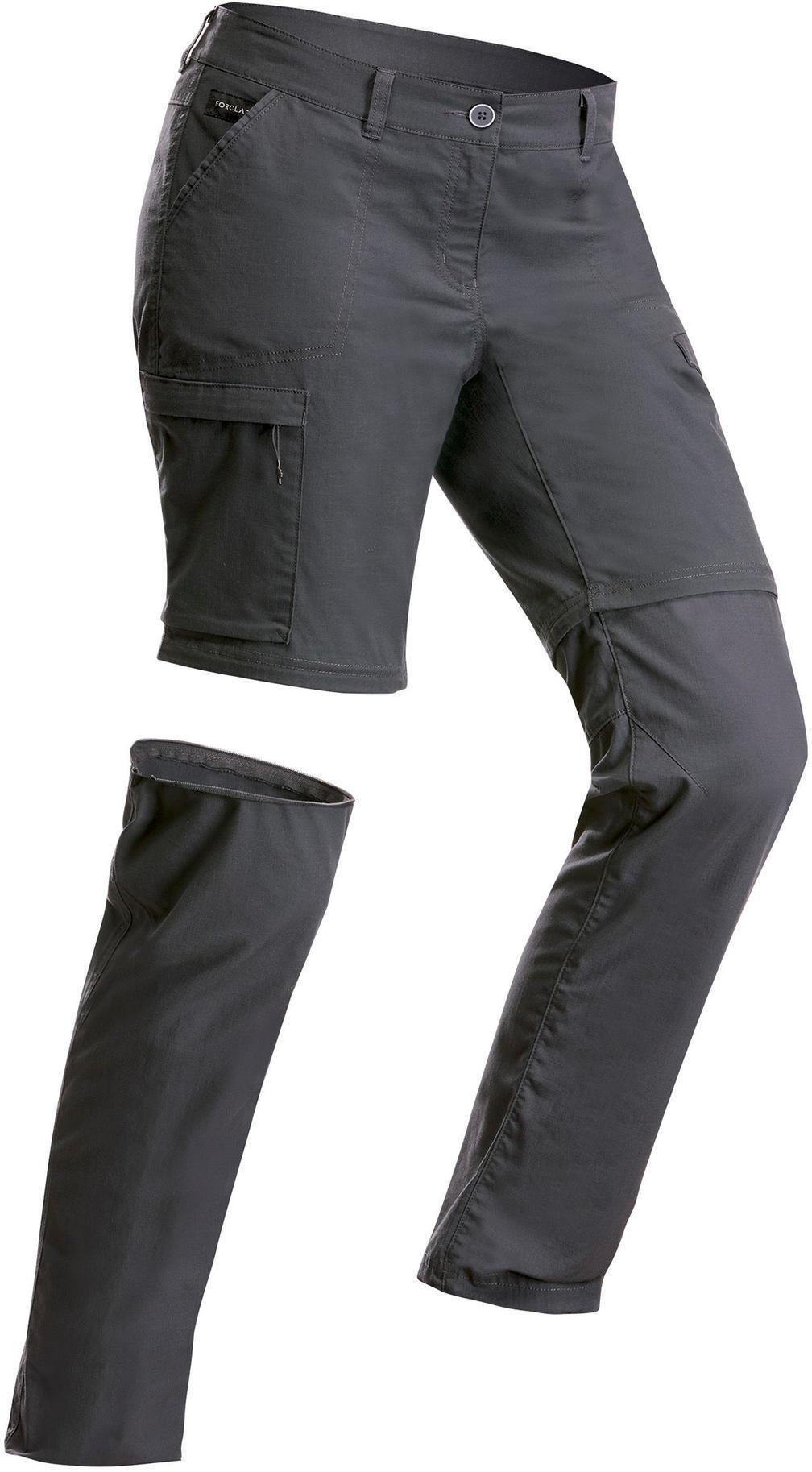 Spodnie trekkingowe - TRAVEL 100 2w1 damskie