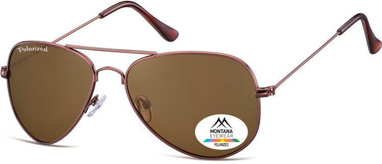 Pilotki okulary aviator Montana MP94D polaryzacyjne